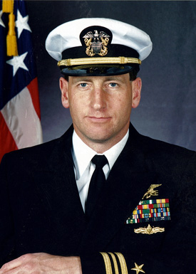 Commander Pete Oswald